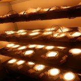 천장을%s 둥근 격판덮개 최고 얇은 LED 위원회는 세륨 RoHS SGS를 설치한다
