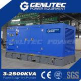 générateur diesel silencieux d'écran d'engine de 400kw 500kVA Yuchai
