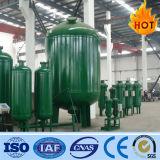 Tank van de Filter van de Koolstof van de hoge druk de Mechanische Actieve voor de Installatie van de Behandeling van het Water