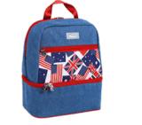 Le double en gros ceinture deux sacs portatifs de couches pour se déplacer pour camper
