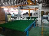 Автомат для резки пены лезвия CNC HK вертикальный осциллируя