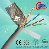 Standard-UTP Cat5e Netz-Kabel des Qualitäts-Eis-