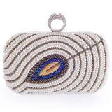 Pochettes acryliques perlées en cristal Eb760 de sac à main d'embrayage de sacs de soirée d'arrivée neuve