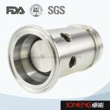 Presión de acero inoxidable de grado Sanitaria válvula de seguridad (JN-SV1006)