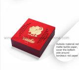 Caixa de presente de empacotamento da moeda da arte de papel plástica comemorativa