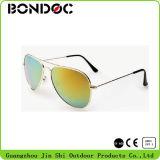 Óculos de sol polarizados UV400 da lente dos homens dos óculos de sol do metal