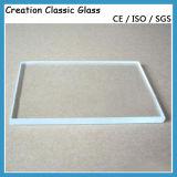 Vetro Tempered ultra chiaro per il vetro di vetro/portello della costruzione con la certificazione