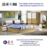 Heißer Verkaufs-hölzerne Bett-Luxushotel-Schlafzimmer-Möbel (702A#)