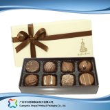Rectángulo de empaquetado del regalo del chocolate de /Candy/ de la joyería de la tarjeta del día de San Valentín con la cinta (xc-fbc-011)