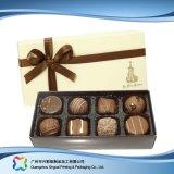 Cadre de empaquetage de cadeau de chocolat de /Candy/ de bijou de Valentine avec la bande (xc-fbc-011)