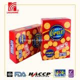 alimento de bocado de las galletas de la salud de las galletas del Crax 200g en rectángulo