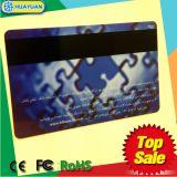 Tarjeta elegante del golpe fuerte NTAG 213 magnéticos RFID de HUAYUAN para el pago