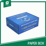 Casella di carta pieghevole lucida su ordinazione