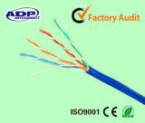 cavo di ponticello solido del cavo di zona del cavo della rete di lan del rame Cat5e del ftp SFTP di 8p8c RJ45 UTP
