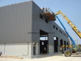 Costruzione prefabbricata della pianta della tettoia della fabbrica della struttura d'acciaio