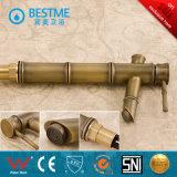 Mélangeur de robinet de bassin monté par paquet en bambou de la Chine de forme (BM-A11005K)