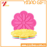 Popular Custom Logo Silicone Cup Mat for Sale