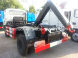 Hotsales 4cbm 4ton Hook Lift Garbage Truck clouded