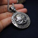 Ювелирные изделия способа ожерелья черепа сбор винограда привесные Unisex Titanium стальные