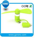 Mini ventilateur USB avec un fort ajustement du vent pour Power Bank