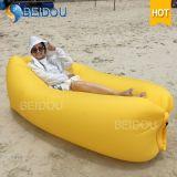 Da cadeira inflável da base do sofá do ar da Um-Boca saco de feijão preguiçoso do sono