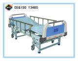 (A-44) Manuelles Krankenhaus-Dreifunktions-Bett mit ABS Bett-Kopf