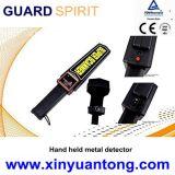Mini detetor de metais à mão recarregável portátil do varredor do corpo com sensibilidade elevada