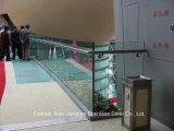 Corrimão de vidro do aço inoxidável da balaustrada dos trilhos de vidro para o material de construção
