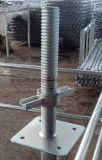 Винт лесов рамки каменщика регулируемый/выравнивать основание Jack для сбывания/конструкции