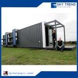 경제적인 살아있는 조립식 휴대용 오두막 콘테이너 집