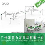 Mobília profissional ergonómica da estação de trabalho do computador de escritório de 4 assentos