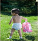 新しいデザイン極度の柔らかい経済的な卸売の通気性のフィルムが付いている使い捨て可能で眠い赤ん坊のおむつ