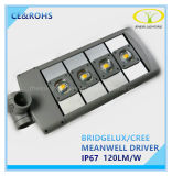 세륨 RoHS IP67를 가진 승인되는 50W LED 거리 도로 빛