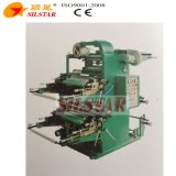 Impresora bicolor de la película plástica de Flexo
