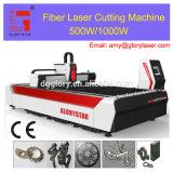 Metallfaser-Laser-Ausschnitt-Maschine des Edelstahl-500W