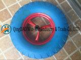 4.00-8 PU 거품 물자를 가진 Ruuber 다채로운 단단한 바퀴
