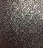 Couro sintético sintético colorido de Lichee Grain para sofá, têxtil doméstico, assento de carro, móveis, sapatos (HS-Y46)