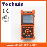 Экран касания волокна OTDR портативный оптически OTDR Meterwith машины Tw2100e высокой точности Handheld оптический OTDR Techwin