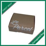 Caixa de papel ondulada impressa interna e exterior de 3 dobras