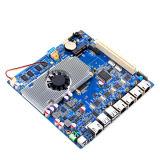 O soquete Intel de Ultrain encaixou o cartão-matriz com 4*RJ45, 2*COM, Mini-Pcie