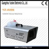 máquina da neve do estágio do controle do telecontrole 1200W/fio