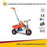 高品質の子供の三輪車の赤ん坊のペダルの三輪車押しのベビーカー(GL112-1)