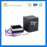 Impreso crear el rectángulo hecho a mano del perfume para requisitos particulares de la cartulina (con la pieza inserta cortada con tintas)