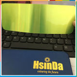Enduit simple bleu clair transparent de poudre d'enduit de poudre de couche de sucrerie fluorescente de Hsinda