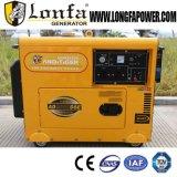 5kw 6kw 7kw 전기 시작 휴대용 침묵하는 닫집 유형 방음 디젤 엔진 발전기