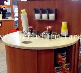 Shop Display Comptoir de comptoir en surface solide