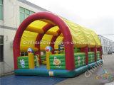 Opblaasbare Speelplaats met Dak/de Opblaasbare Speelplaats van Kinderen