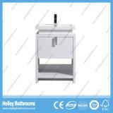 Cabinet de salle de bain moderne moderne avec lampe à LED (BF384D)