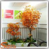 호텔 섬유유리로 만드는 장식적인 플라스틱 인공적인 단풍나무