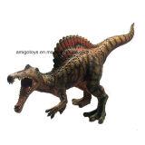 El modelo creativo juega el juguete de los cabritos de Spinosaurus del dinosaurio de la simulación